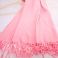 薄款 纯色围巾